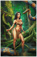 Jungle Goddess by CValenzuela