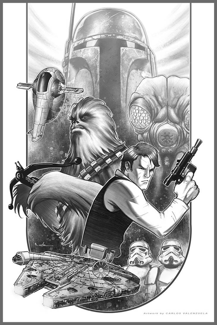 Han Solo - Space Pirate by CValenzuela