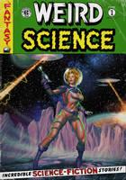 Retro Sci-Fi Cover by CValenzuela