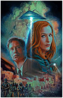 X-Files Annual 2016 by CValenzuela