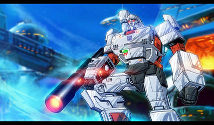 Megatron Animated by CValenzuela