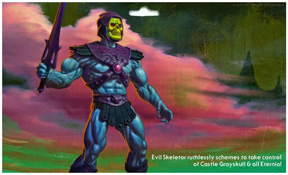 Skeletor cardback mock-up