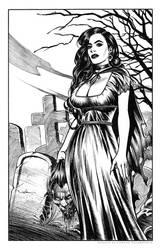 The Widow by CValenzuela