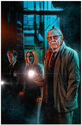 The X-Files - starring Stan Lee by CValenzuela