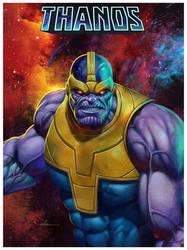The Mighty Thanos by CValenzuela
