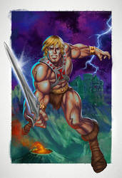 The Power of He-Man by CValenzuela