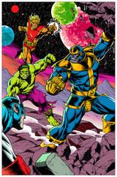 Avengers v/s Thanos
