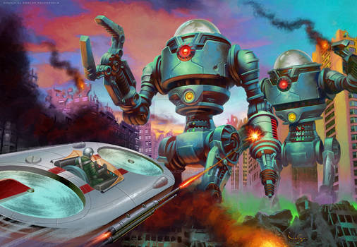 Mars Attacks: Uprising - Stop These Robots!