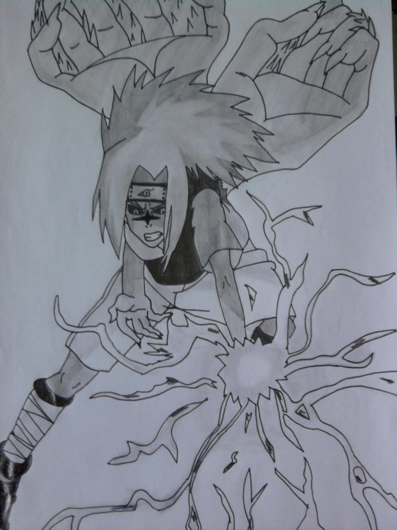 sasuke cursed seal chidori by deinvada734562 on DeviantArt