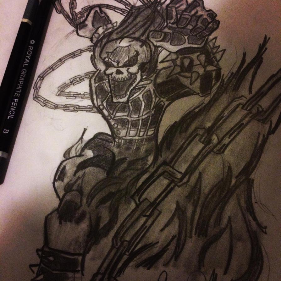 Ghost Rider by BlackMambaMs