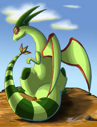 Flygon's Gonna Eat You by Kyrara