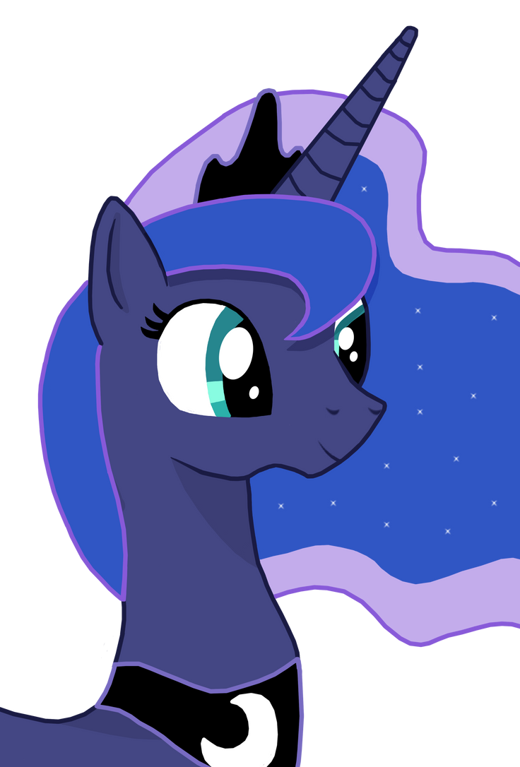 Princess Luna by theirishbronyx