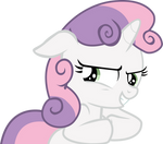 Vector: Mischievous Sweetie Belle