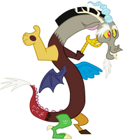 Vector: Who else but Discord? by theirishbronyx