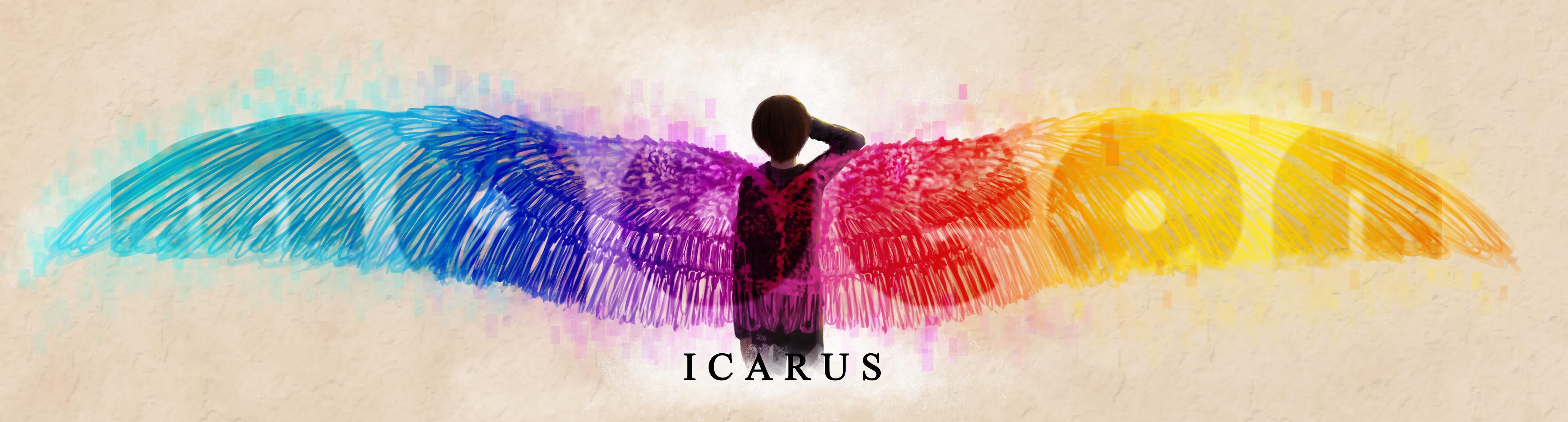 Icarus by petulantScribbler