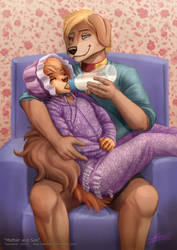 Mother and Son (ABDL) by sannamy