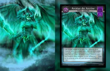 Arzire Avatar (Mistica y Guerra TCG)