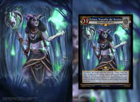 Champion Card: Trina (Mistica y Guerra TCG)