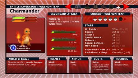 Pokemon BN Concept - Pokemon team Screen