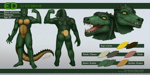 Ed Crocodile Refsheet