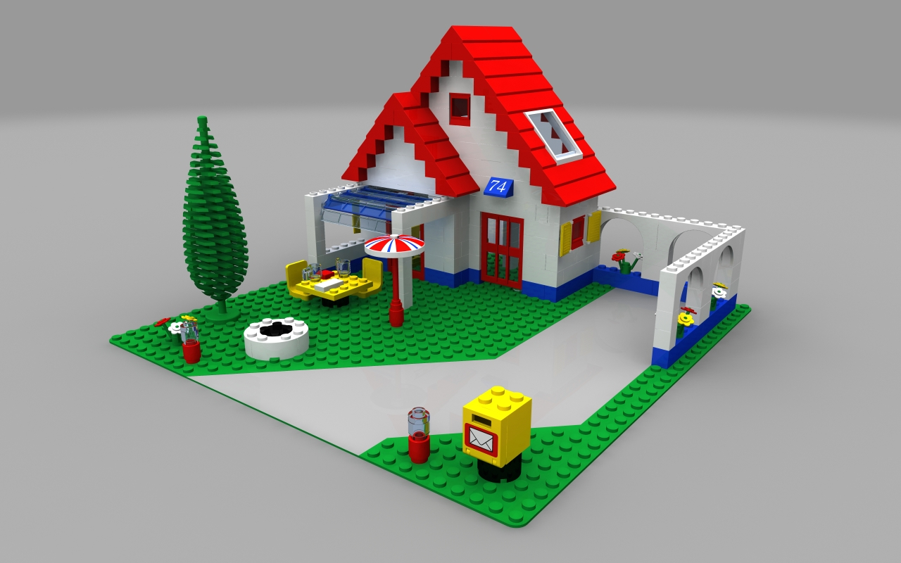 Lego holiday home by zpaolo on deviantart
