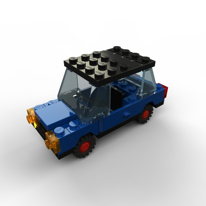 Lego Car With Lego Logo By Zpaolo On Deviantart