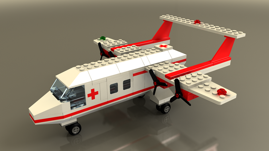 how to build a lego airplane easy