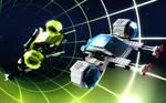 LEGO Blacktron 2 Futuron Chase