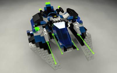 LEGO Unitron - 1789 Star Hawk II by zpaolo