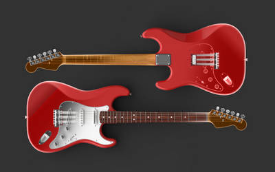 Stratocaster X-Ray