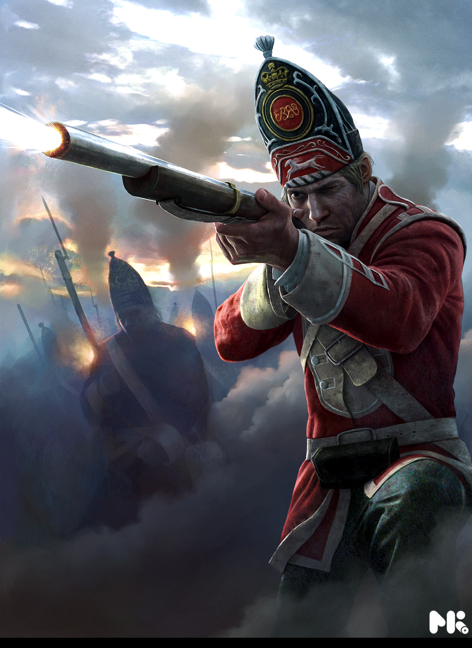 Grenadier Empire_Total_War_Grenadier_by_michaelkutsche