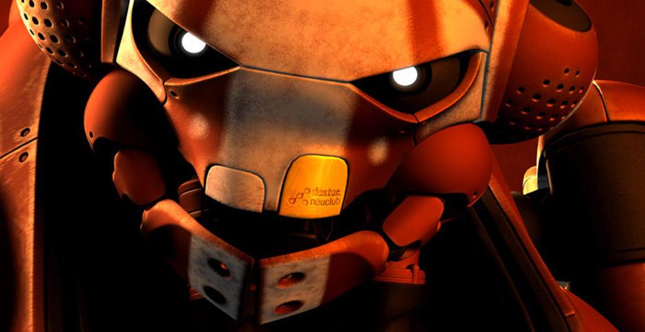 boogiebot closeup by michaelkutsche