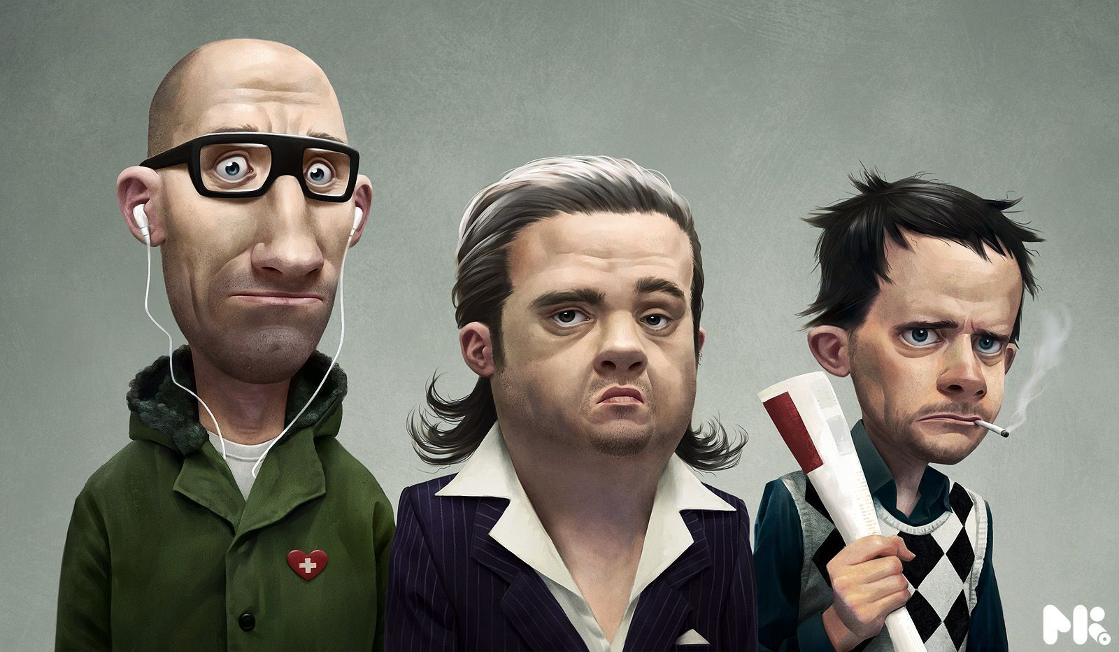 Agency Characters by michaelkutsche
