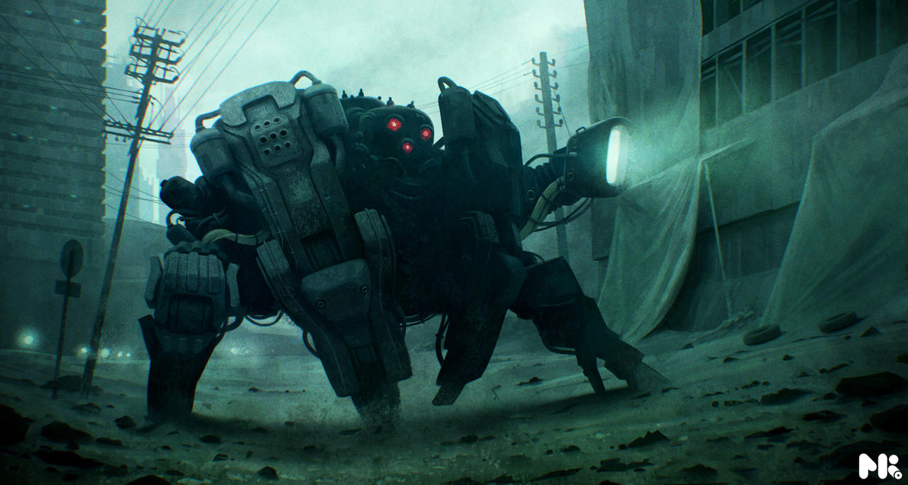 Absolutely Stunning Illustrations and Game Concept Arts by Michael Kutsche width=