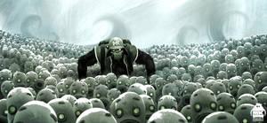 Plastic Army by michaelkutsche