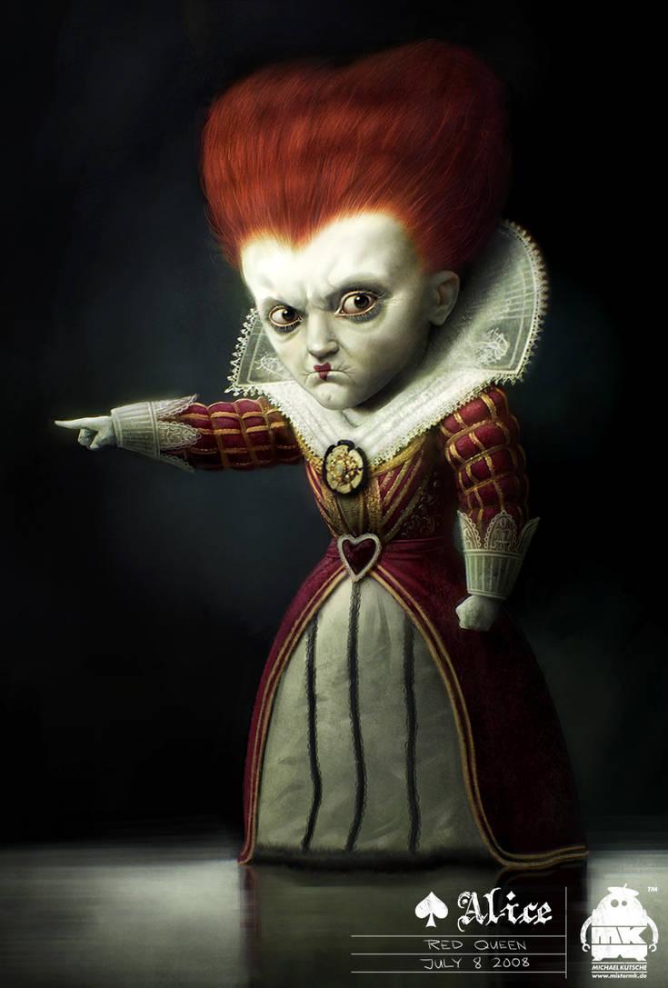 Alice in Wonderland-Red Queen by michaelkutsche