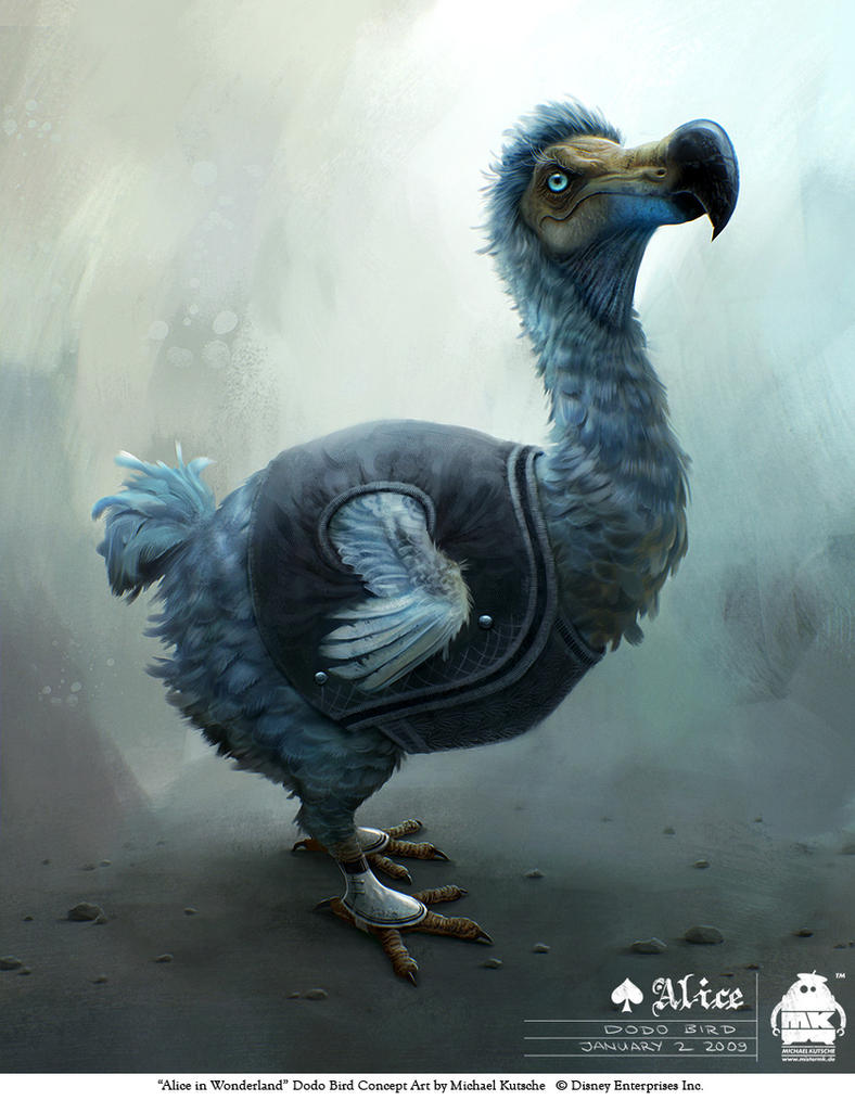 Alice in Wonderland - Dodo by michaelkutsche