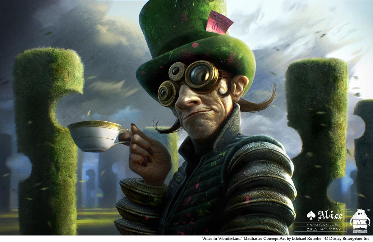 Alice in Wonderland-Madhatter