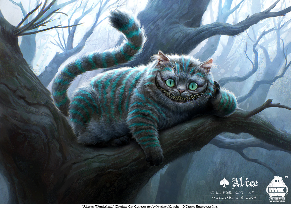 Alice - Cheshire Cat by michaelkutsche