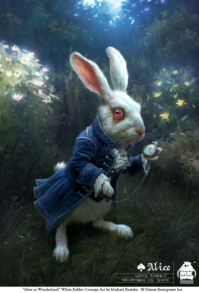 Alice - White Rabbit by michaelkutsche