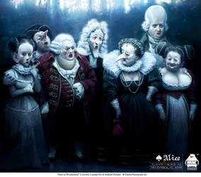 Alice - Courtiers by michaelkutsche