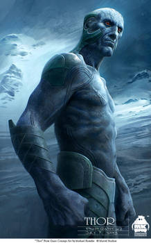 Thor - Frost Giant Concept 2