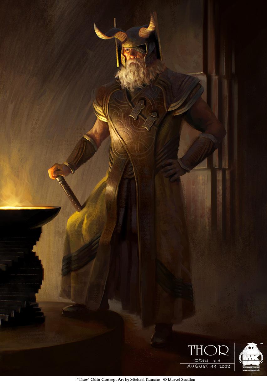 Thor - Odin Costume Design by michaelkutsche on DeviantArt