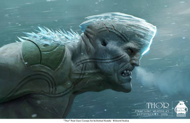 Thor -Bull Frost Giant Concept
