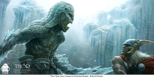 Thor - Frost Giant Concept 3