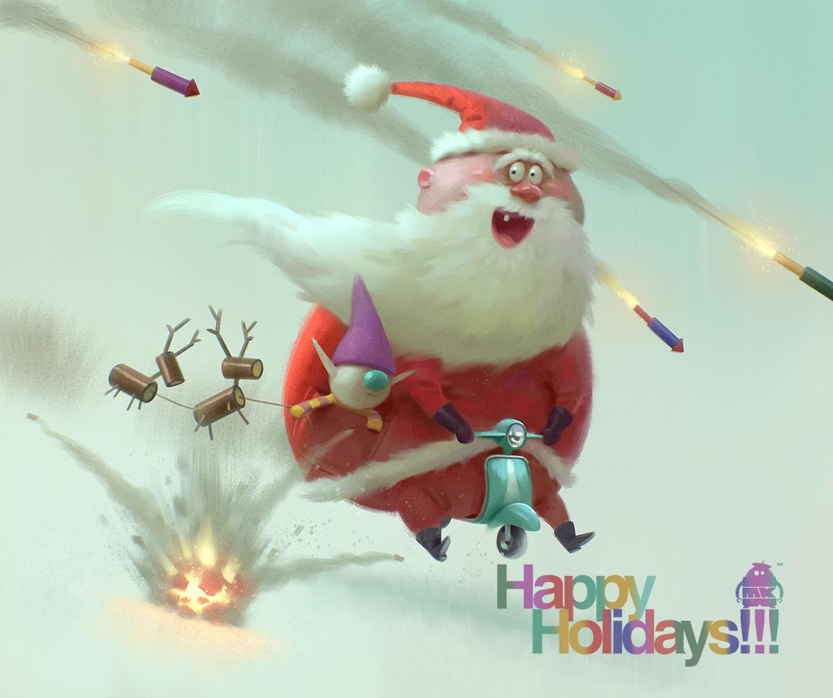 Happy Holidays!!! by michaelkutsche