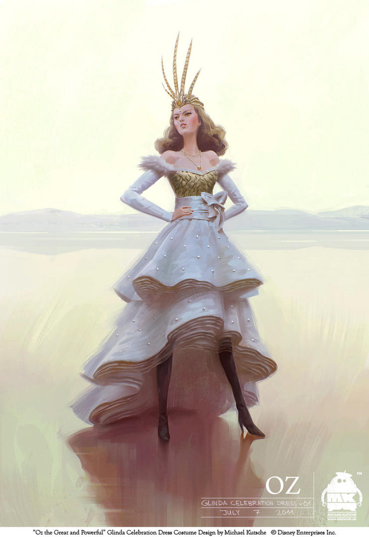 Oz - Glinda Celebration Dress by michaelkutsche