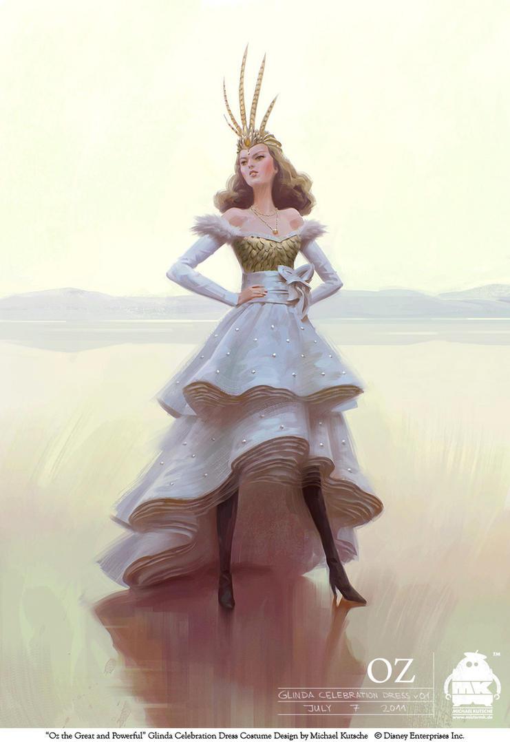 Oz - Glinda Celebration Dress by michaelkutsche