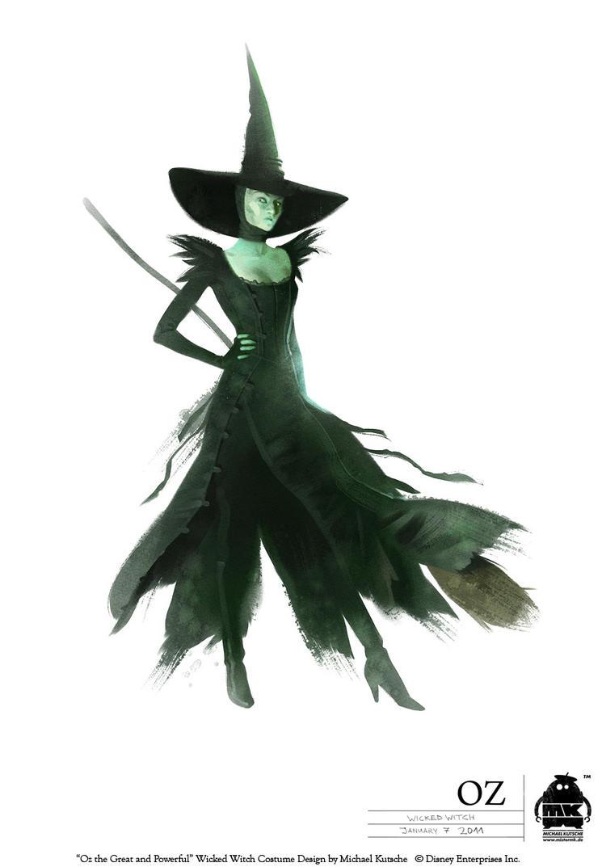 Oz - Wicked Witch of the West by michaelkutsche on DeviantArt