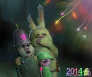 Happy New Year 2014!!! by michaelkutsche